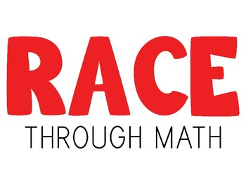 R.A.C.E. Math Posters, Signs, and Bookmarks