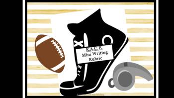 R.A.C.E. Mini Writing Rubric