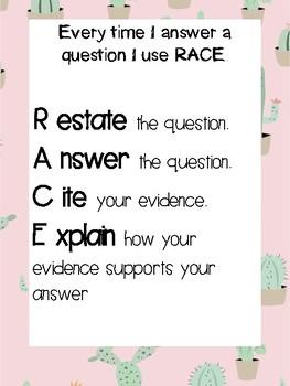 R.A.C.E Poster