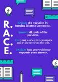 R.A.C.E. Response Poster