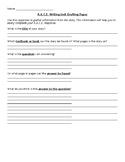 R.A.C.E. Response Writing Template