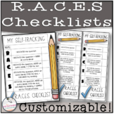 R.A.C.E.S. Student Self-Correcting Checklist (Editable)