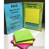 R.A.C.E Sticky Note Stands