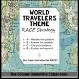 R.A.C.E. Strategy World Travelers Theme