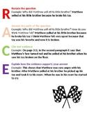 R.A.C.E. Student Anchor Chart