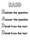 R.A.D.D. Anchor Chart