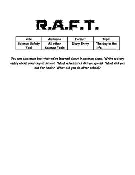 R.A.F.T. Science Tools