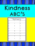 R.A.K. Kindness ABC Cooperative Game