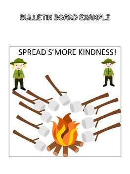 R.A.K. Kindness Bulletin Board- Spread S'MORE Kindness!
