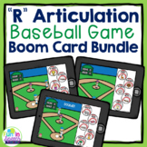 Baseball R Articulation Boom Card Games for R