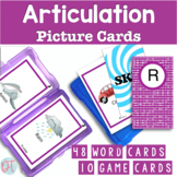 Articulation Picture Cards for R