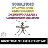Vocalic R Articulation Reading & Vocalic R Sentences - Bloodsuckers - Mosquitoes