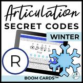 R Articulation Secret Codes BOOM Cards for Digital Speech