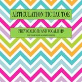 R Articulation Tic Tac Toe