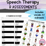 R Assessment and Progress Monitoring {speech therapy}