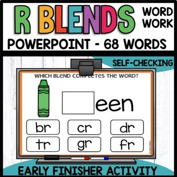 R BLEND  | EARLY FINISHER PPT