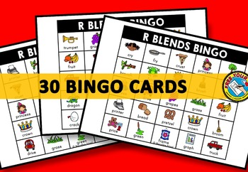 R BLENDS ACTIVITIES: R BLENDS BINGO GAME FOR WHOLE CLASS: R BLENDS GAMES