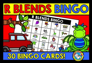 R BLENDS ACTIVITIES: R BLENDS BINGO GAME FOR WHOLE CLASS: