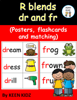 R BLENDS - DR AND FR
