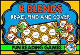 R BLENDS GAME: PHONICS READING CENTERS: BLENDS READING GAM