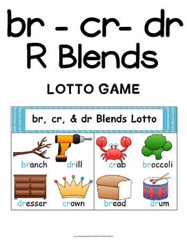 R BLENDS LITERACY CENTERS