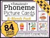 R-BLENDS - Phoneme Picture Cards - SLP - Word Lists - Colo