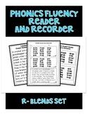 R BLENDS - Phonics Fluency Assessment