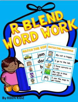 R BLEND WORD WORK