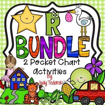 R BUNDLE (2 Pocket Chart Activities)