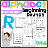 R Beginning Sound Letter of The Week Activity Pack
