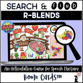 R-Blends BOOM Cards™ - Search & Find Articulation Game