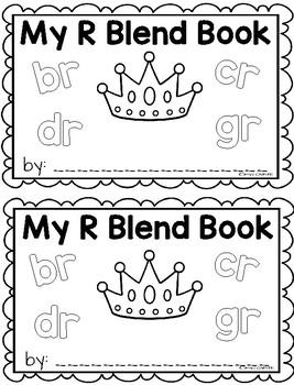R Blend Writing Book
