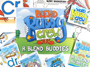 R Blend Buddy Combo Pack (Tags and Posters)