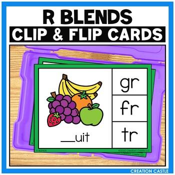 R Blends Clip Cards Center