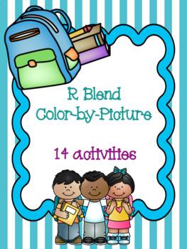 R Blend Color-by-Picture Bundle! {14 activities}
