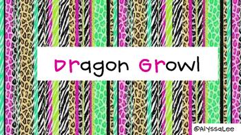 R-Blend Dragon Growl -Orton Gillingham