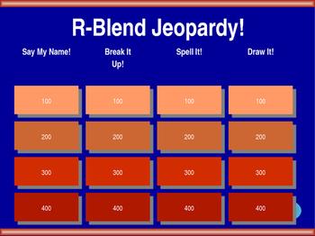 R-Blend Jeopardy!
