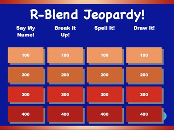 R-Blend Jeopardy Games! {8 games}