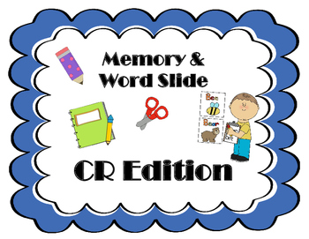 R-Blend Memory & Word Slide (CR)