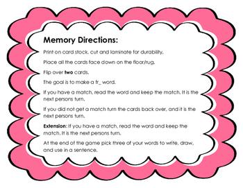 R-Blend Memory & Word Slide (FR)