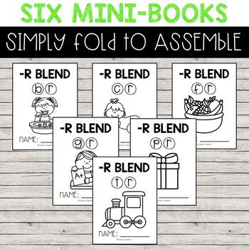 Mini-Books | -R Blends