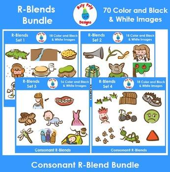 R-Blend Phonics Clip Art Bundle