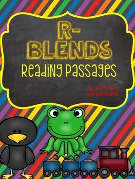 R Blend Reading Passages