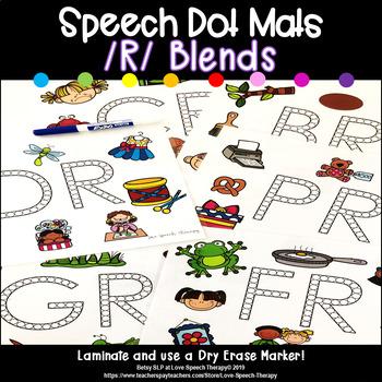 R Blend Speech Dot Mats