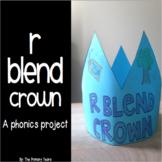 R Blend Word Work Craftivity - A Phonics Project