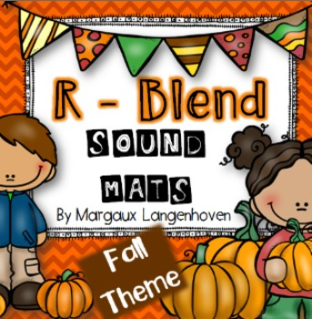 R - Blend sound identification mats FALL theme