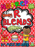 R Blends Worksheets and Activities No Prep Pack