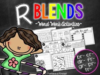 Word Work for Beginning Blends:  R Blends