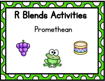 R Blends Activities Promethean