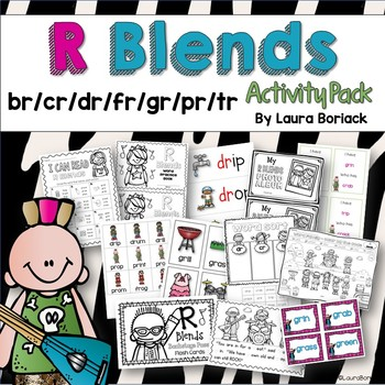 R Blends Activity Pack
